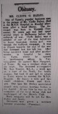 Obituary - Manning River Times