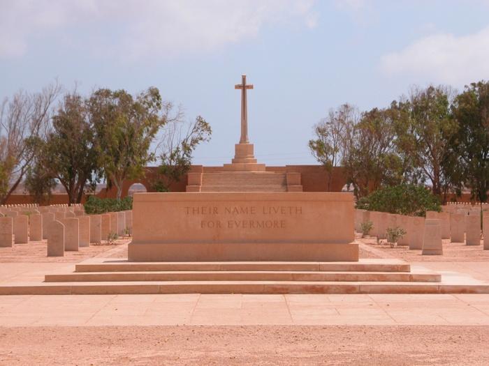Tobruk War Cemetery, Al Butnan, Libya Courtesy: cwgc.org
